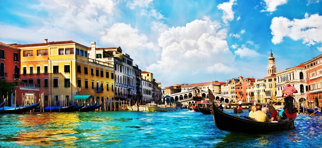 Cheap First Class to Venice